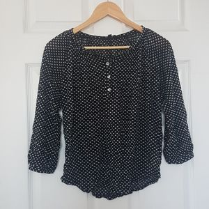 2/$20 The Limited patterned blouse